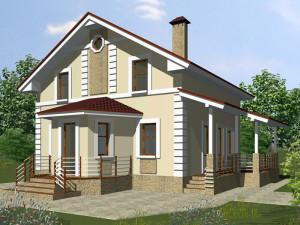 Проекты домов из пеноблока