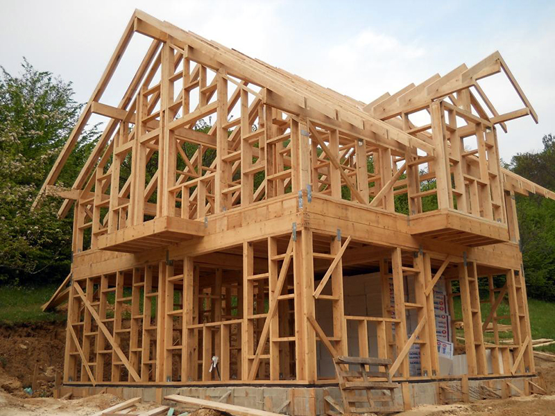 Технология для строительства каркасного дома
