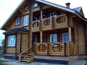 Строительство домов из лиственницы