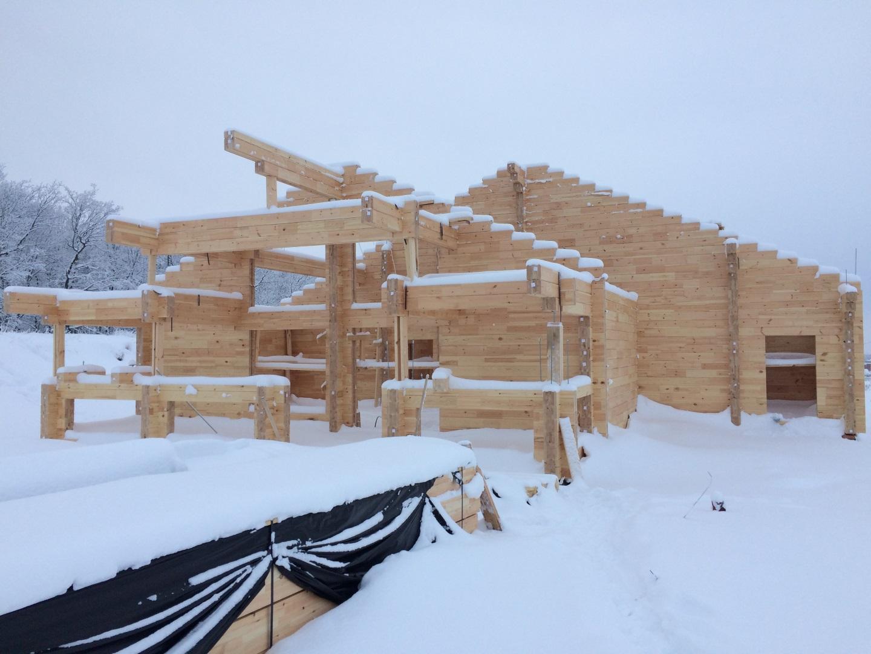 Строительство домов из клееного бруса анагрская ссона СК Технострой Самара